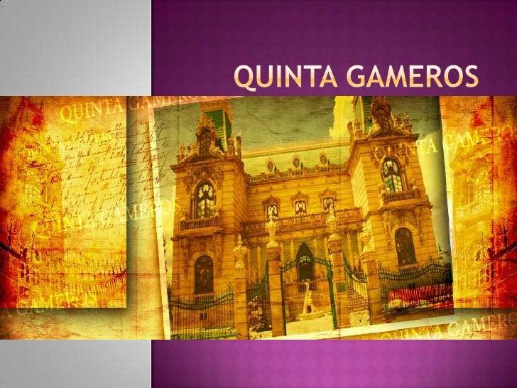    En 1904 el Ing. Manuel    Gameros hizo un largo viaje    por Europa. En este viaje    conoce una residencia en el    s...