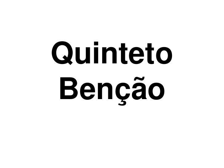 Quinteto Benção<br />