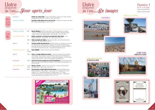 1514 Votre bimensuel Dim Juillet 14 au ven 19 Granville Théâtre de la Haute-Ville - Stage d'interprétation organisé par...