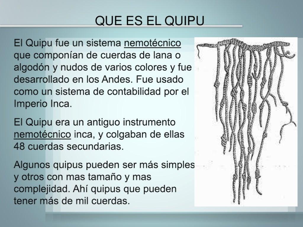 Quipu inca