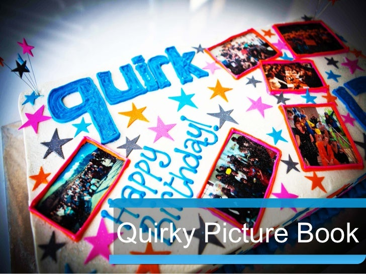 Quirky Picture    Book       Quirky Picture Book
