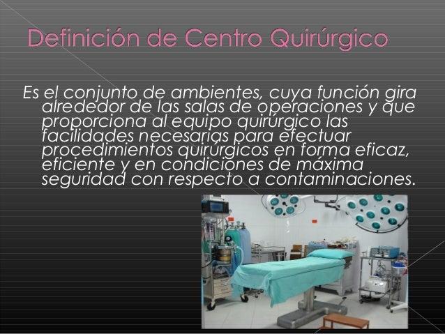 Quirofano y personal for Cuarto quirurgico