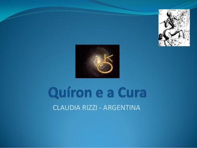 CLAUDIA RIZZI - ARGENTINA
