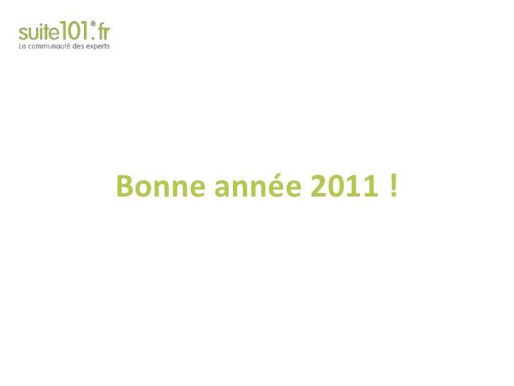 Bonne année 2011 !<br />