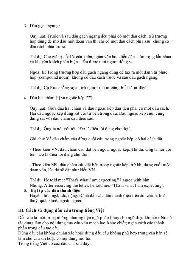 Quy tắc tiếng Việt Slide 2