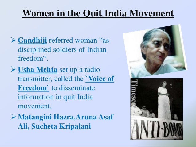 quit india movement essay Open document below is an essay on quit india movement from anti essays, your source for research papers, essays, and term paper examples.