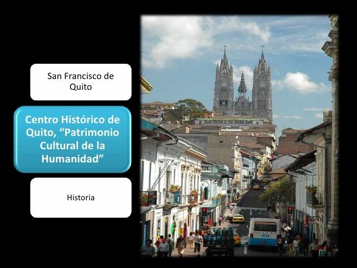 San Francisco de Quito<br />