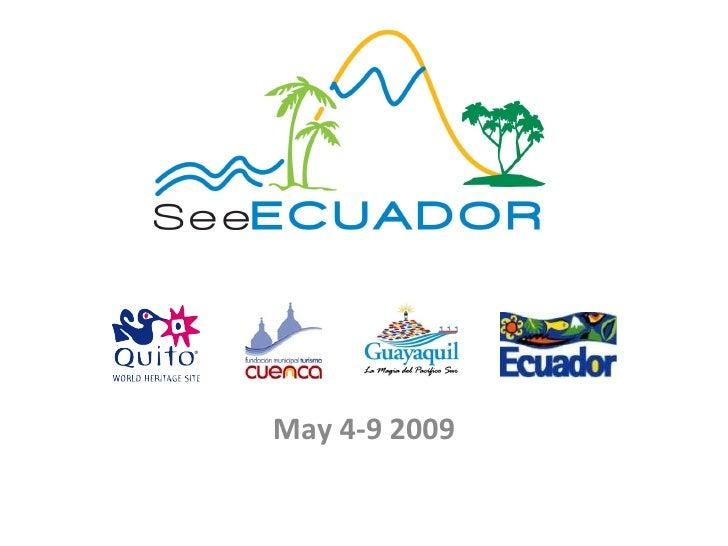 May 4-9 2009