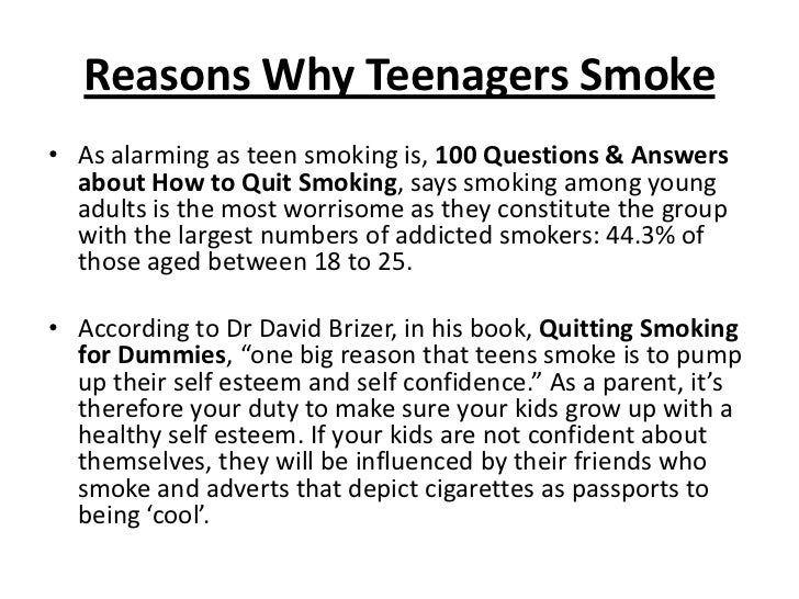 Essay quit smoking cigarettes