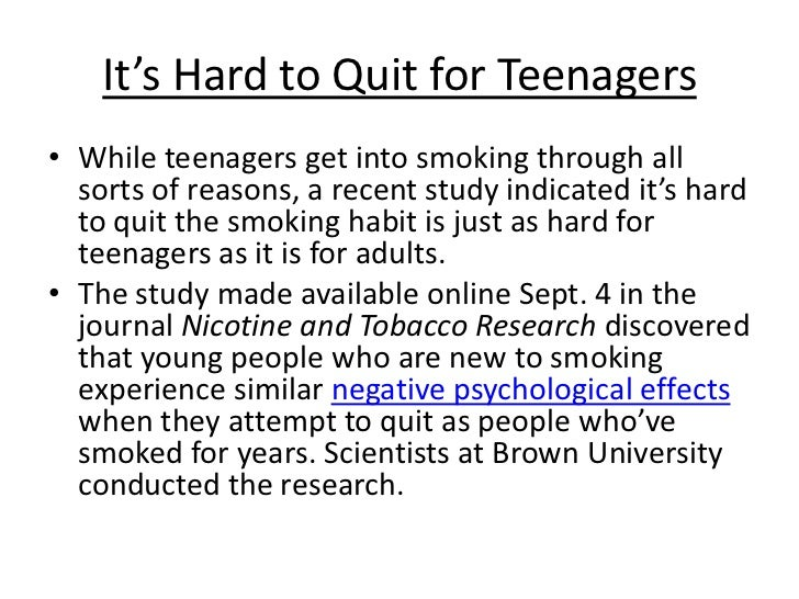 quit smoking help for teenagers  8