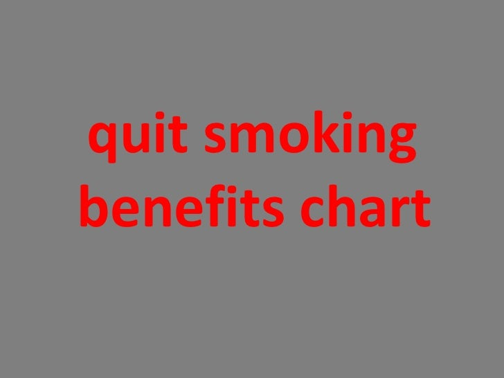 <ul><li>quit smoking benefits chart  </li></ul>