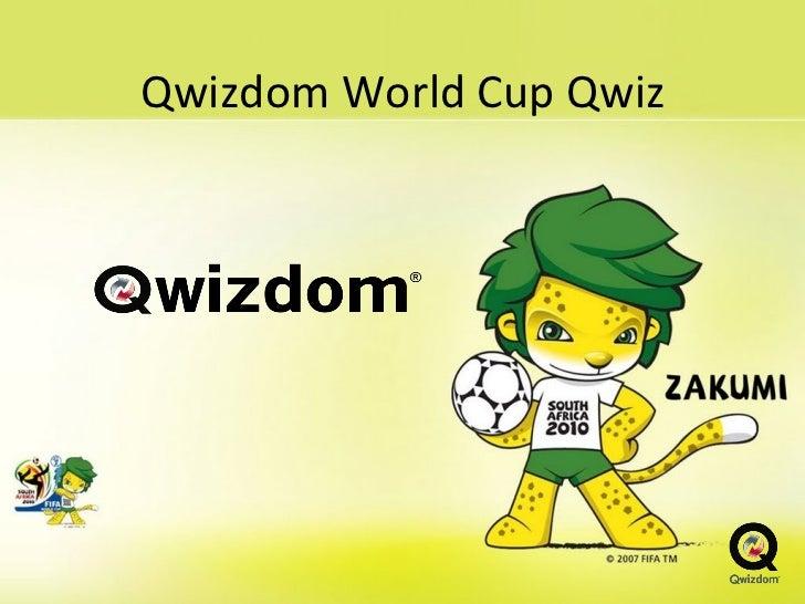 Qwizdom World Cup Qwiz