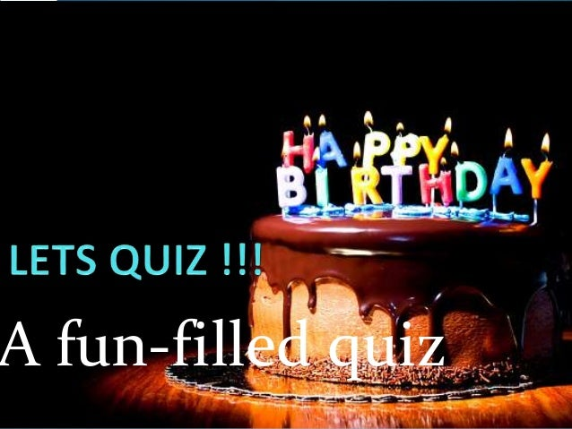 Kids Quiz Age 79 Birthday Party Activity