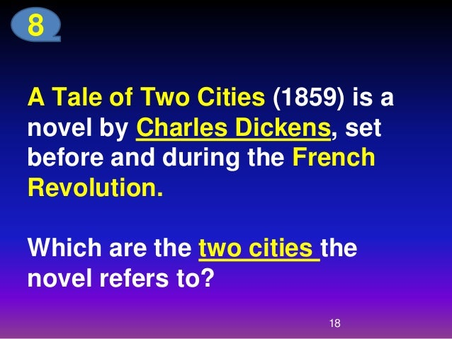 A Tale of Two Cities, the representative work of Charles Dickens, i...