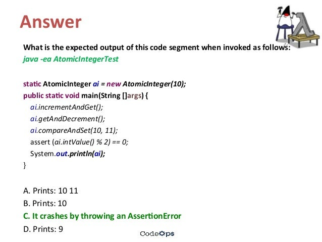Java Concurrency - Quiz Questions