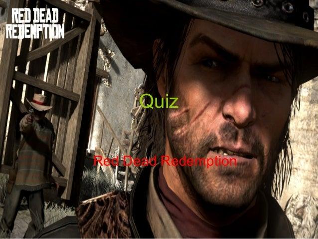 Quiz Red Dead Redemption