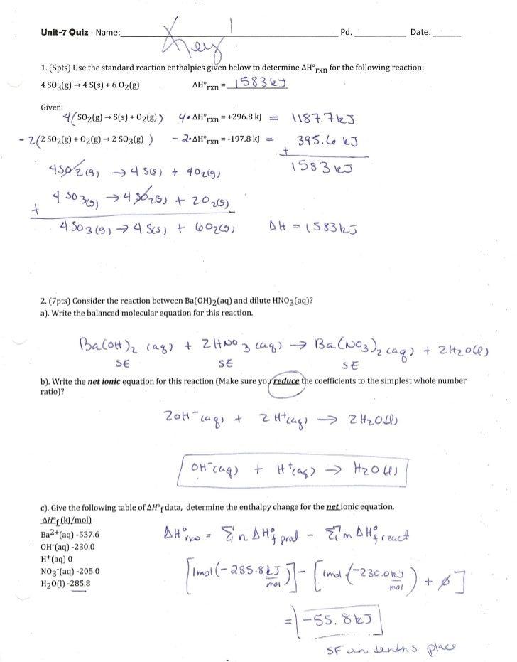 KEY-Unit-7 Quiz 0208