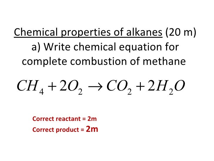Quiz 2 alkane and alkene with answers