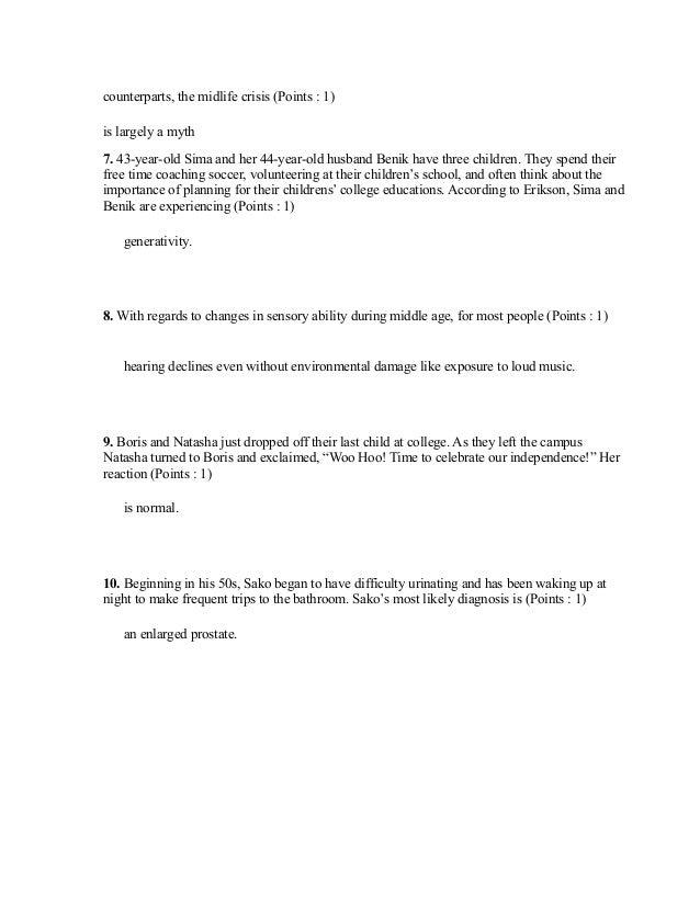 ASHFORD UNIVERSITY PSY202 QUIZ 4