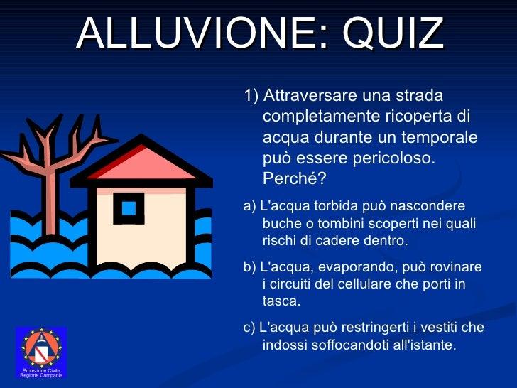 Quiz Alluvione