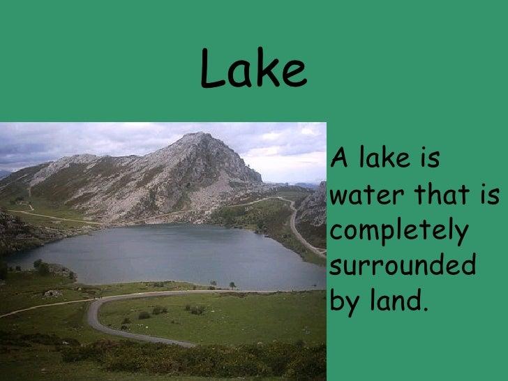 Quiz about landforms
