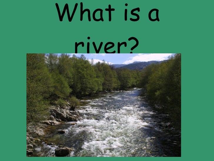 Quiz About Landforms - River quiz