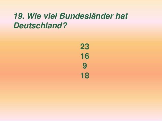 Quiz Deutschland Fertig