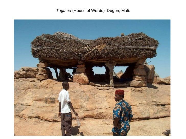 Togu na  (House of Words). Dogon, Mali.