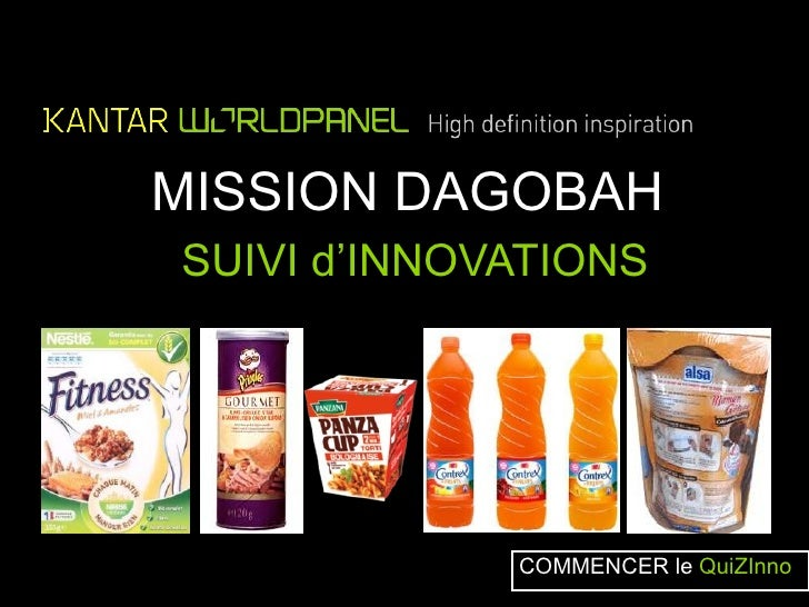 MISSION DAGOBAHSUIVI d'INNOVATIONS             COMMENCER le QuiZInno