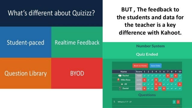 Quizizz - A fun website review game.