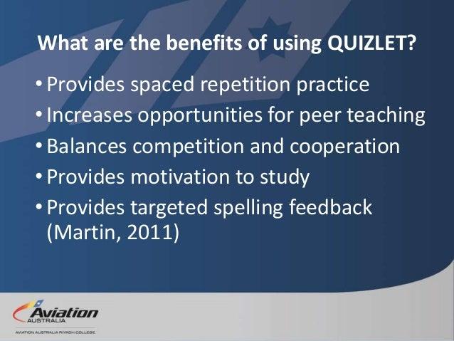 Quizlet Training