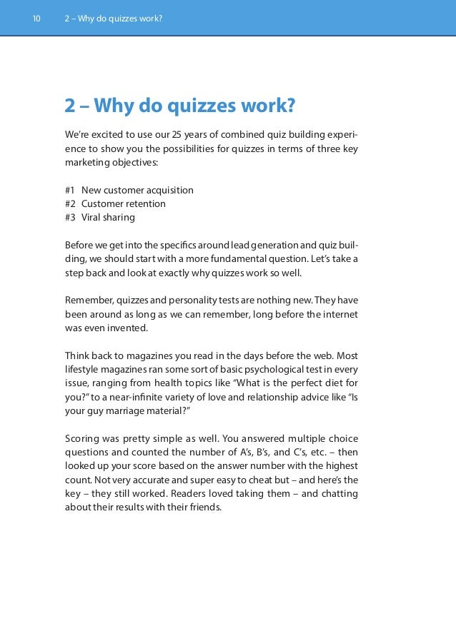 Quizmaster (Ch  2): Why do quizzes work?