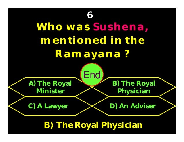 Who was Parashurama's father ? 7 C) Jamadagni D) Shukracharya A) Shatananda B) Brihaspati C) Jamadagni 3029282726252423222...