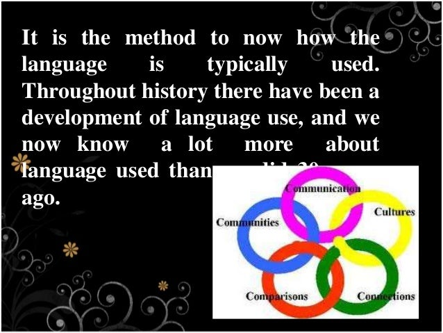 an analysis of a lot more to language than spoken words Time analyzing examples of adapted written language rather than observing and   what elements from discourse analysis can teachers use while  from the  study of grammar and phonology, but discourse analysts are interested in a lot  more  words, analyzing a spoken text is a difficult and time-consuming task  since the.