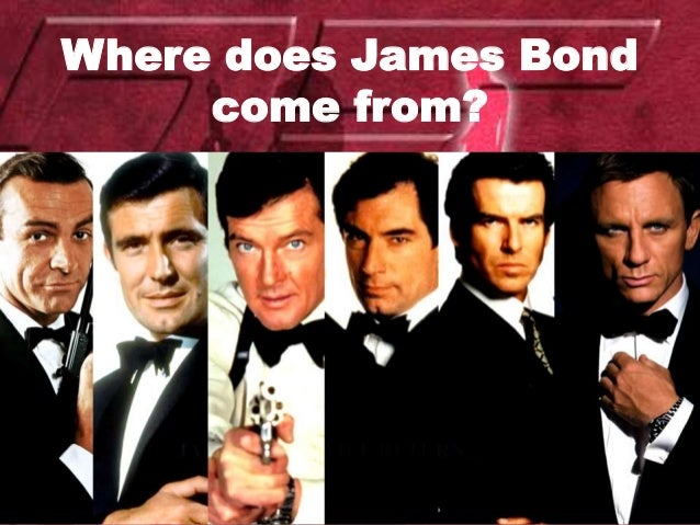 Where does James Bond come from?