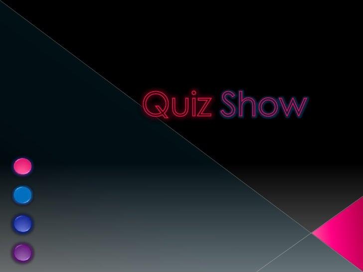 QuizShow<br />