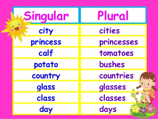 Plural of princess