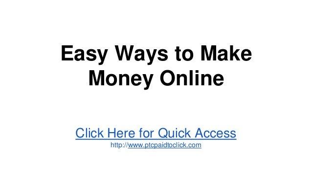 من السهل كسب المال على الانترنت