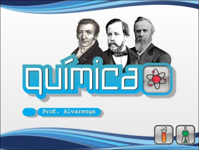 QUÍMICA – A Ciência do século XXIQuímica: ciência que estuda a estrutura, a composição, aspropriedades e as transformações...