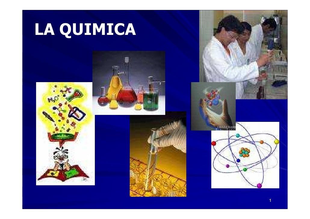 LA QUIMICA                  1
