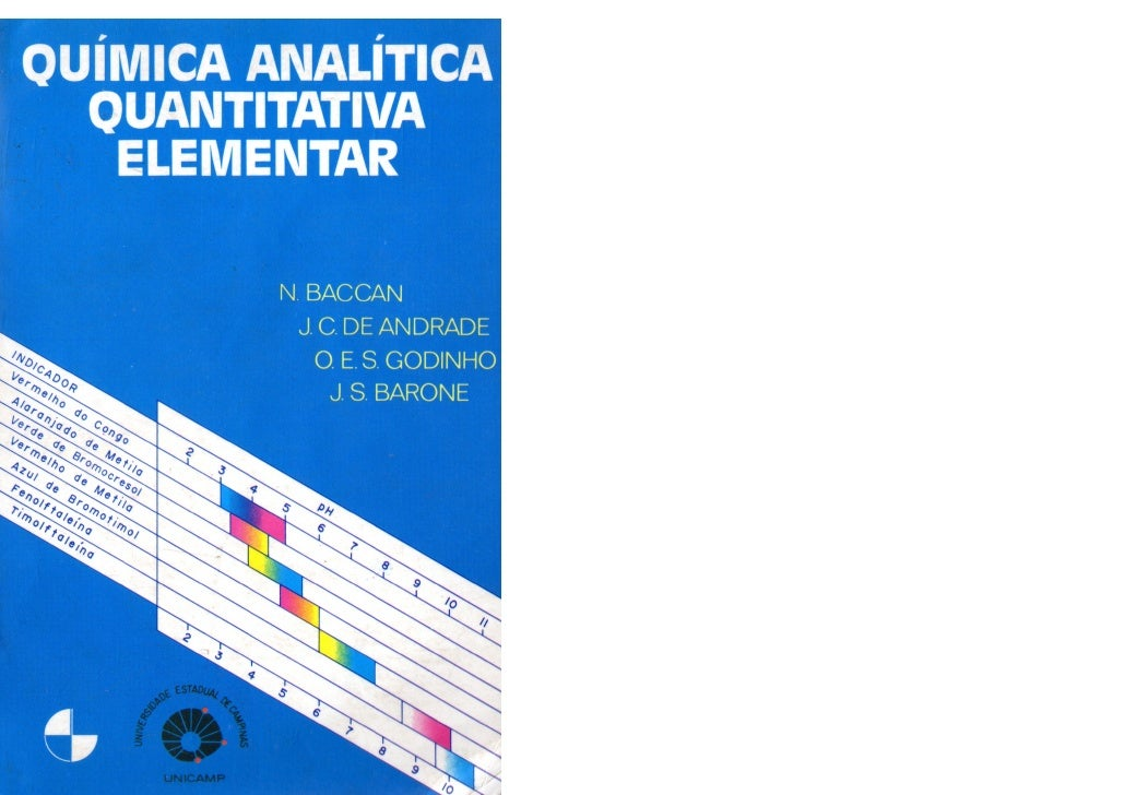 livro quimica analitica quantitativa elementar baccan
