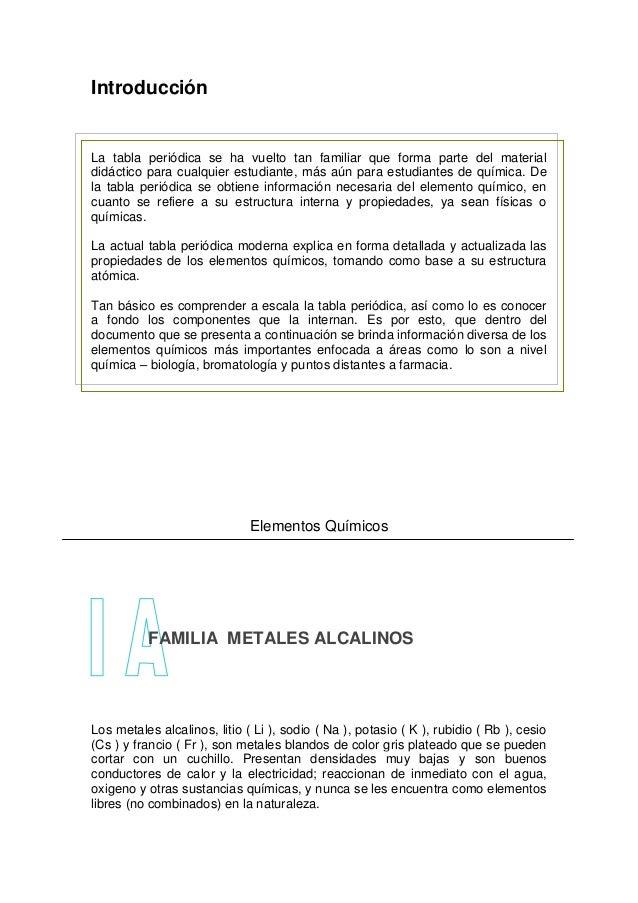 Qumica de los elementos representativos 3 introduccin la tabla peridica urtaz Images