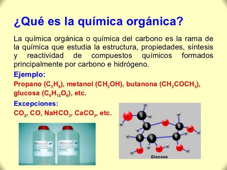 Qu mica org nica carbono for La quimica de la cocina