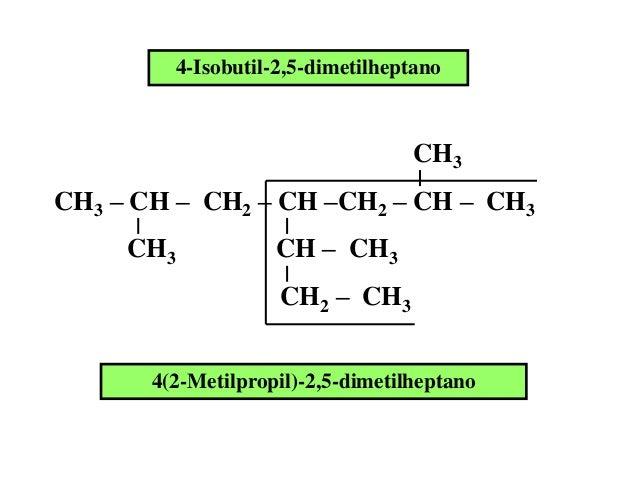 Química orgánica ejemplos de alcanos ramificados