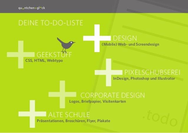 quäntchen + glück sucht Designer Slide 2