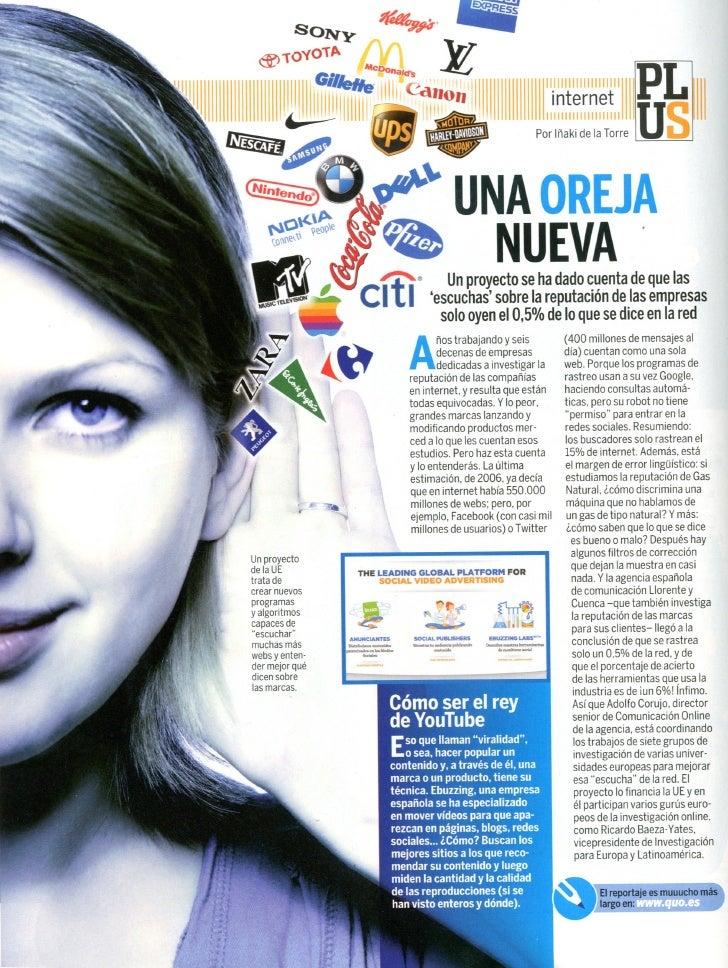 Revista Quo. Proyecto Limosine