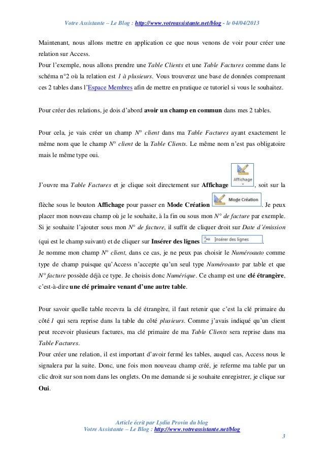 Votre Assistante – Le Blog : http://www.votreassistante.net/blog - le 04/04/2013 Article écrit par Lydia Provin du blog Vo...