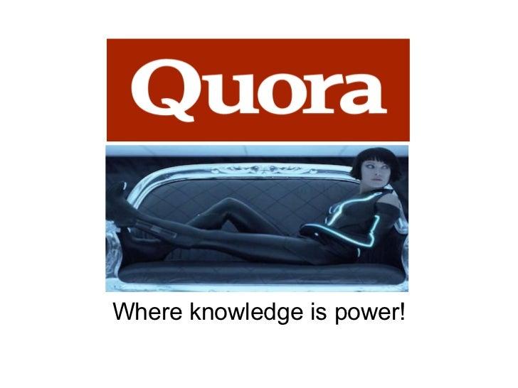 <ul>Where knowledge is power! </ul>