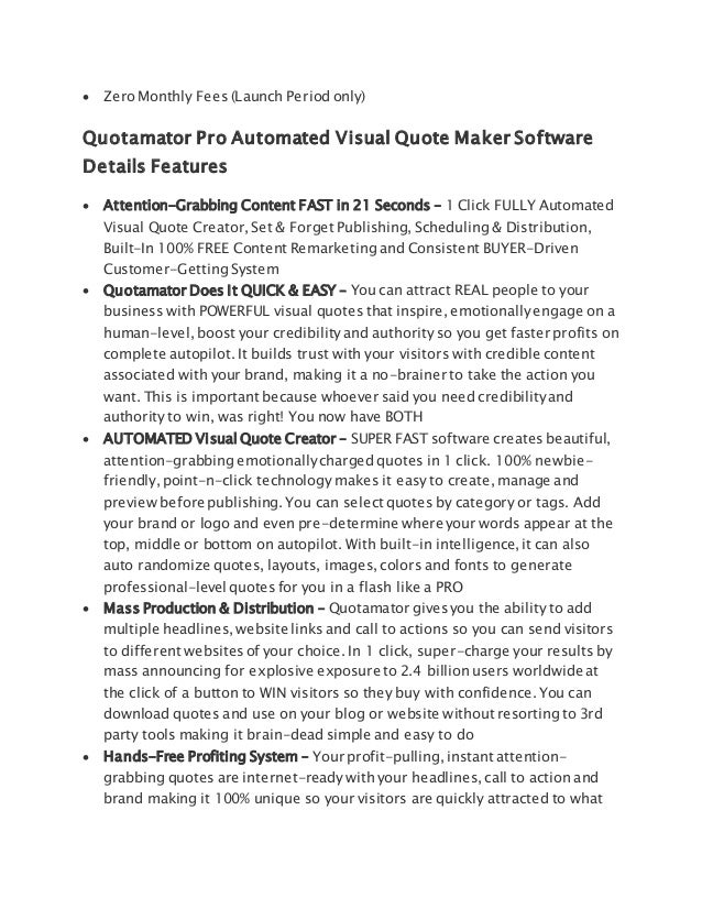 Image of: Autopilot Income Training 6 Carousell Quotamator Pro Automated Visual Quote Maker Software