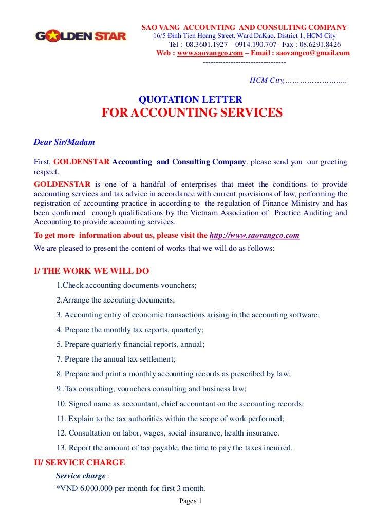 SAO VANG ACCOUNTING AND CONSULTING COMPANY                                    16/5 Đinh Tien Hoang Street, Ward DaKao, Dis...